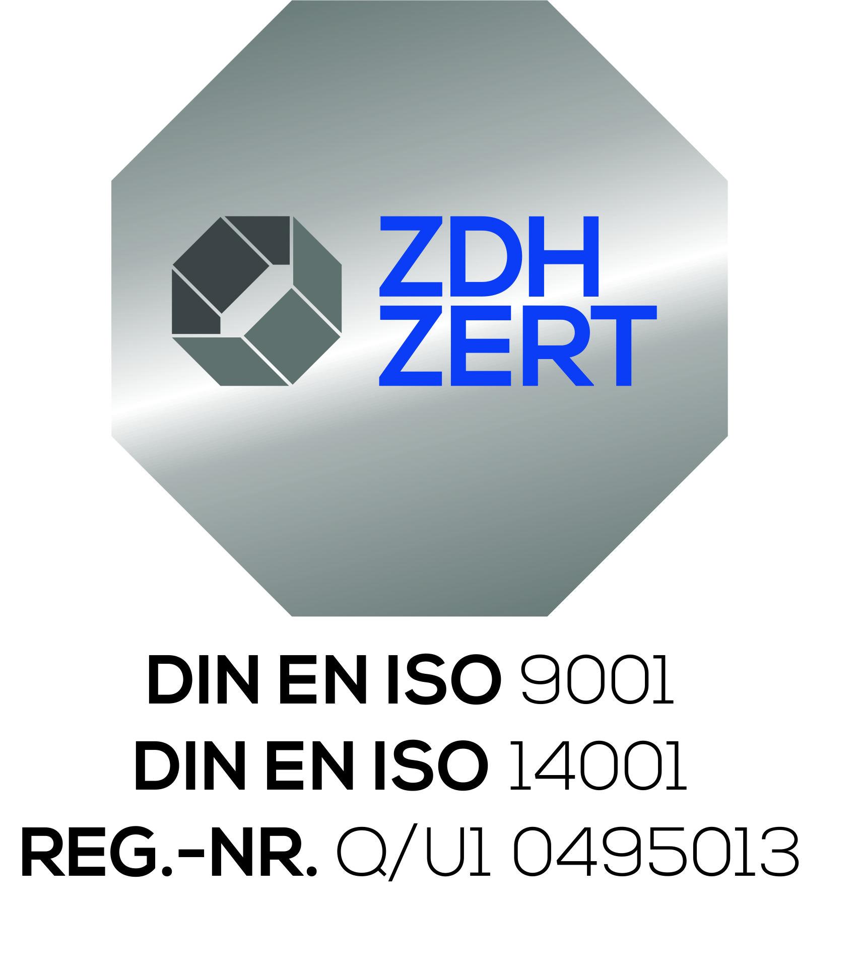 DIN EN ISO 9001 DIN EN ISO 14001